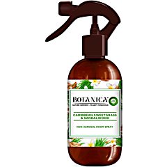Spray de camera vetiver din Caraibe si lemn de santal Botanica, 236ml