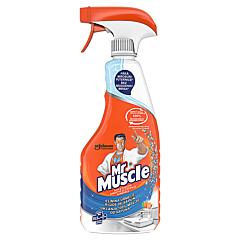 Detergent dezinfectant baie si toaleta, cu pulverizator, Mr.Muscle mandarine, 500ml