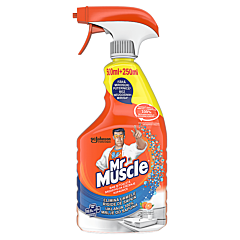 Detergent dezinfectant baie si toaleta, cu pulverizator, Mr.Muscle mandarine, 750ml
