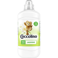 Balsam de rufe, Coccolino Jasmine, 58 spalari, 1.45L