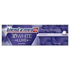 Pasta de dinti Blend-a-med 3D White Luxe Instant Pearl Glow, 75ml