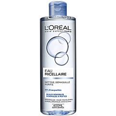 Apa micelara pentru piele sensibila, piele normala si mixta, L'Oreal Paris, 400ml