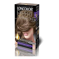 Vopsea de par permanenta blond mediu Loncolor Expert Oil Fusion 7.0, 100ml