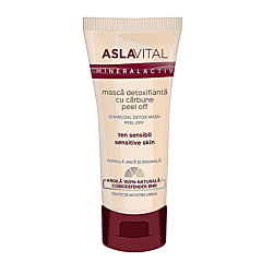 Masca detoxifianta, Aslavital carbune Activ Peel Off, 100 ml