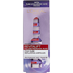 Fiole anti age cu acid hialuronic, L'Oreal Paris Revitalift Filler, 7x1.3ml