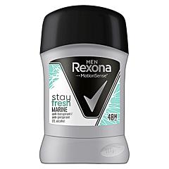 Deodorant antiperspirant stick, Rexona Men Marine, 50ml