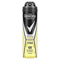 Deodorant antiperspirant spray, Rexona Men Citrus, 150ml