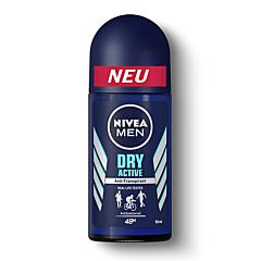 Deodorant roll on, Nivea Men Dry Fresh, 50ml