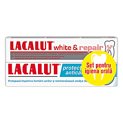 Pasta de dinti Lacalut white & repair 150ml