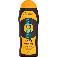 Emulsie plaja rezistenta la apa cu ulei de masline ozonizat, Cosmetic Plant, SPF20, 200ml