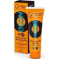 Crema protectie solara pentru fata cu ulei de masline ozonizat, Cosmetic Plant Ozon, SPF 30, 50ml