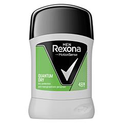 Deodorant antiperspirant stick, Rexona Men Quantum Dry, 50ml