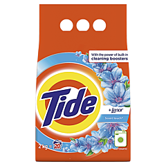 Detergent automat pudra Touch Of Lenor, Tide, 20 spalari, 2kg
