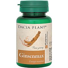 Ginseng, catina si polen Dacia Plant GinsenMax 6flacon 60 comprimate