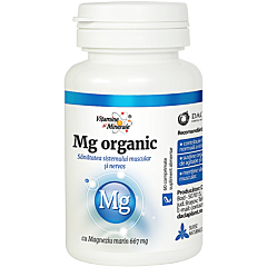 Magneziu organic Dacia Plant 60 comprimate