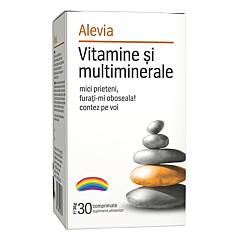 Vitamine si multiminerale Alevia 30 comprimate