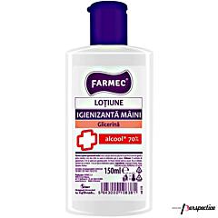 Lotiune igienizanta maini cu alcool si glicerina Farmec 150ml