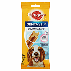 Hrana uscata complementara pentru caini de peste 4 luni Pedigree Dentastix 180g