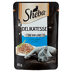 Hrana umeda pentru pisici cu ton Sheba Delicato 85g