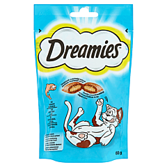 Hrana uscata pentru pisici cu somon delicios Dreamies 60 g