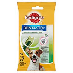 Batoane dentare cu eucalipt pentru caini de talie mica Pedigree DentaStix 110g
