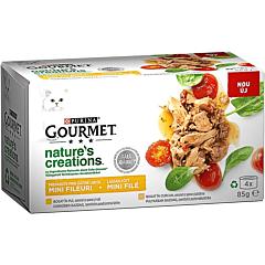 Hrana umeda pentru pisici cu carne de pasare Gourmet 4x85g