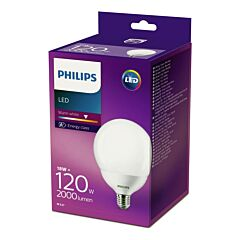 Bec Philips Led Glob 120W E27 2700K