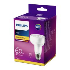 Bec Philips Led R80 REF 60W E27 2700K