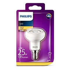 Bec Philips Led R50 REF 25W E14 2700K