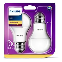 Bec Philips Led A60 100W E27 M 2700K X2