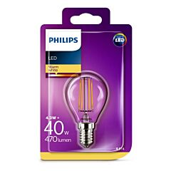 Bec Philips Led P45CL 40W E14 2700K