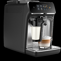 Espressor automat Philips EP2236/40 LatteGo, 12 niveluri de macinare, capacitate 275 g boabe, 1.8 Litri