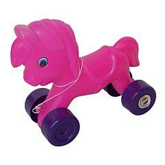 Poney din plastic cu roti, Huby Toys