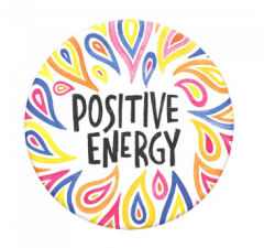 Suport telefon Popsockets Positive Energy