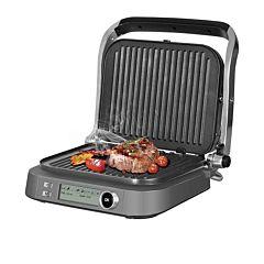 Gril electric Redmond SteakMaster RGM-M816P-E, 2100 W, 7 programe, Functie cuptor, Inox