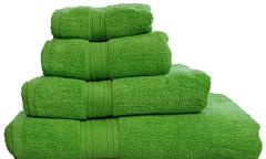 Prosop baie 30x50 cm verde