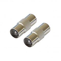 Adaptor antena Poss PSANT14, COAX 9.0 mm M/M, 2 bucati