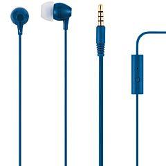 Casti audio in ear Poss PSEAR181NB, microfon, Albastru