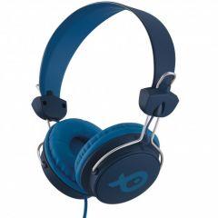 Casti cu fir over ear PSH996BU Poss, Albastru