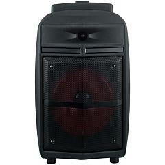 Boxa audio tip troller Poss PSPARTY50, 50 W, autonomie pana la 19 ore, bluetooth, USB, Jack 3.5, Negru