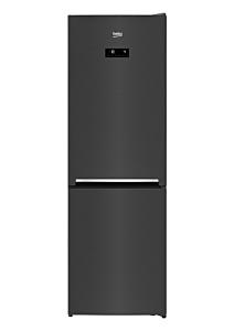 Combina frigorifica Beko RCNA366E40ZXBRN, 324 Litri, Clasa A+++, HarvestFresh, Neofrost Dual Cooling, Everfresh+, Gri