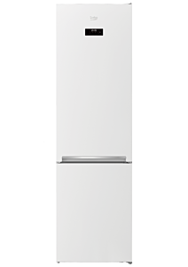 Combina frigorifica Beko RCSA406K40WRN, 386 Litri, Clasa A++, Voice Recorder, Alb