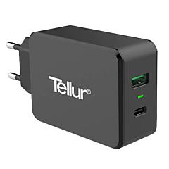 Incarcator retea Tellur, Quick Charge 3.0 USB-C, Negru