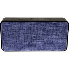Boxa portabila Bluetooth Tellur Lycaon, Intrare AUX, Slot card MicroSD, Radio FM, Microfon, Albastru