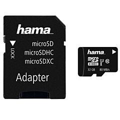 MICROSD 32GB UHS C10 HAMA