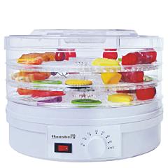 Deshidrator alimente Hausberg HB-810, 250 W, Alb
