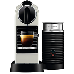 Espressor automat Nespresso Citiz&Milk D123W, 1720 W, 1 Litru, 19 bar, Alb
