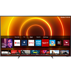 Televizor LED Smart Philips 70PUS7805/12, 178 cm, 4K Ultra HD, Clasa A+