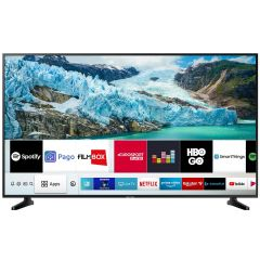 Televizor LED 55RU7092 Samsung, 138 cm, Smart TV, 4K Ultra HD, Negru
