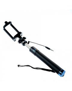 Selfie Stick Premium M76CF Tellur , cu fir, Albastru